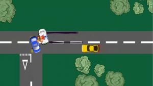 Image emergency vehicles accident 1
