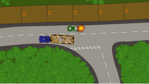 Image lorries accident 1