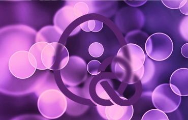 Image kinch robinson logo in abstract bubbles