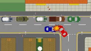 Image turning left accident 2