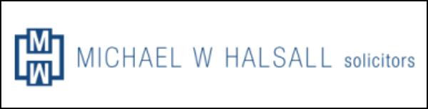 M W Halsall logo